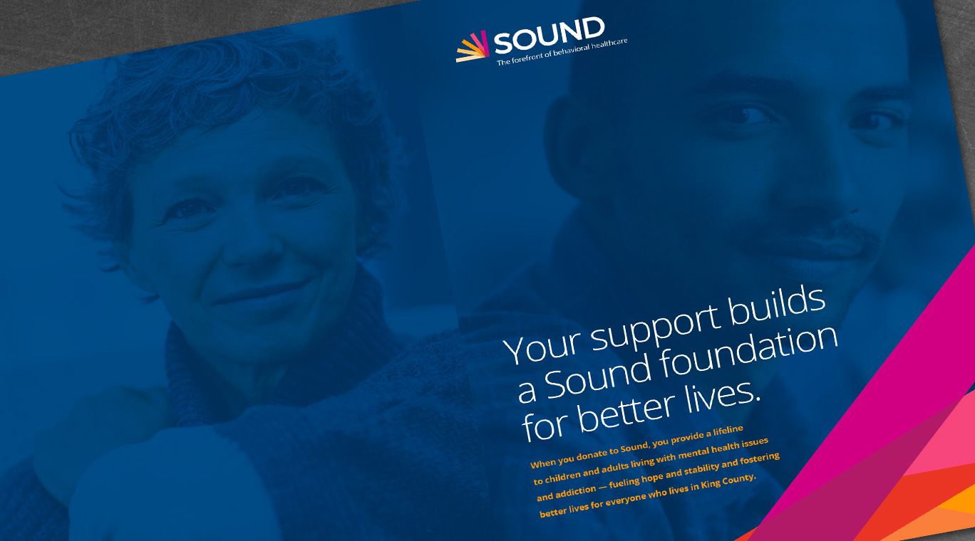 Sound Campaign Brochure – close up view