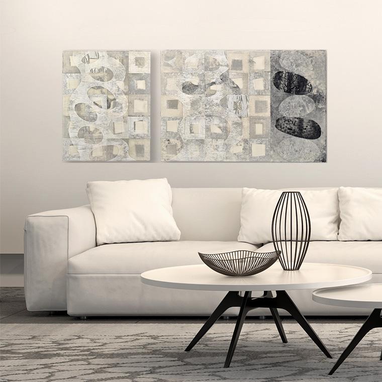 Korogaru (Languish) art by David Owen Hastings in a living room