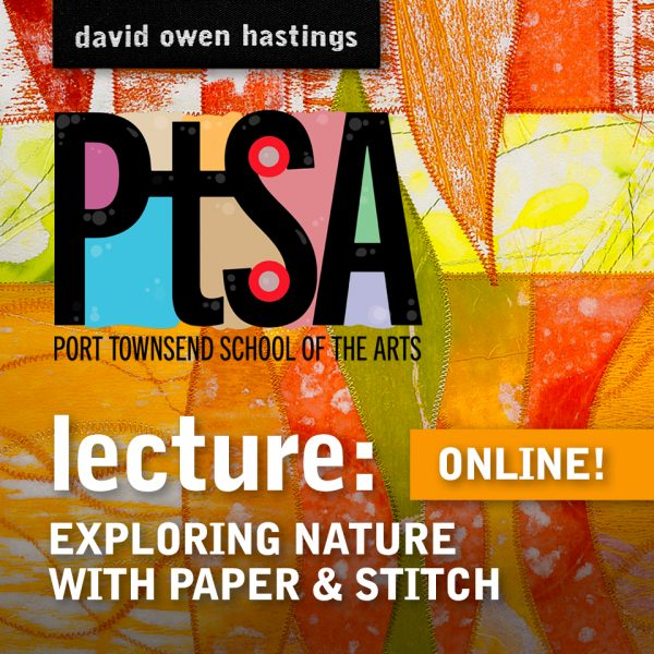 Title for Lecture: Exploring Nature with Paper & Stitch
