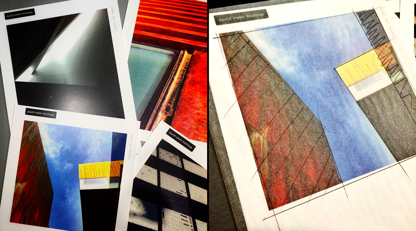 Inspired by Architecture Workshop – photos of architectural details with sketches