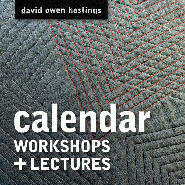 Calendar of workshops and lectures
