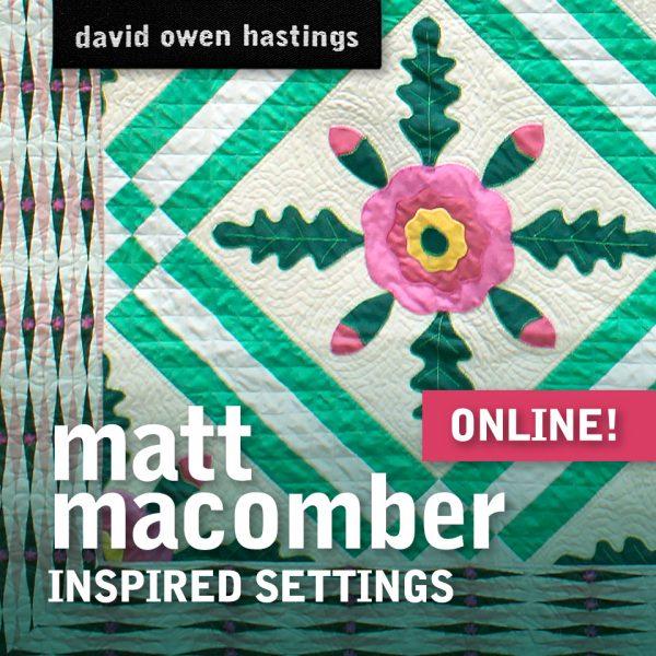 Matt Macomber – Inspired Settings